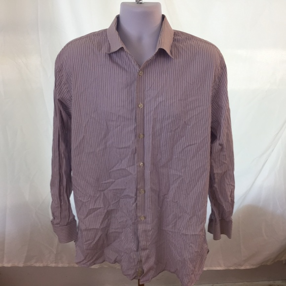 Nordstrom Shirts John Mens Dress Shirt Size L Poshmark